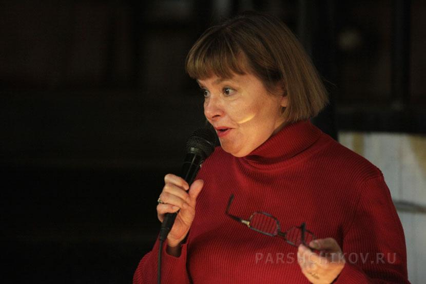 Поэтесса Татьяна Щербина