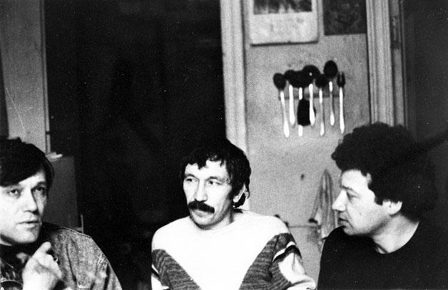 Иван Жданов, Александр Еременко, Алексей Парщиков
